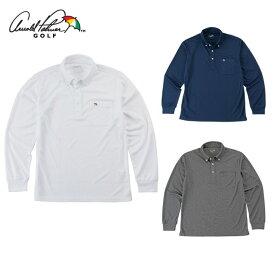 アーノルドパーマー arnold palmer ゴルフウェア 長袖シャツ メンズ BD長袖シャツ AP220202I01