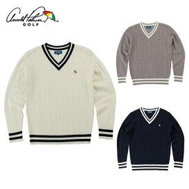 アーノルドパーマー arnold palmer ゴルフウェア セーター メンズ ケーブルニットセーター AP220204I01