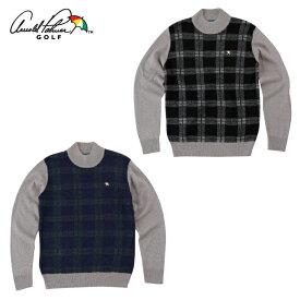 アーノルドパーマー arnold palmer ゴルフウェア セーター メンズ 柄物ハイネックセーター AP220204I02