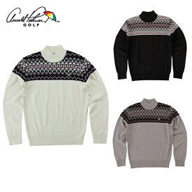 アーノルドパーマー arnold palmer ゴルフウェア セーター メンズ ジャガードセーター AP220204I04