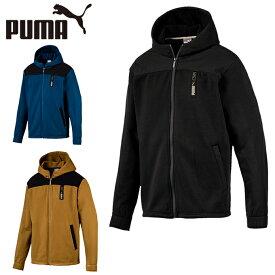 プーマ スウェットジャケット メンズ NU-T ハイブリットフードニットJKT 581084 PUMA