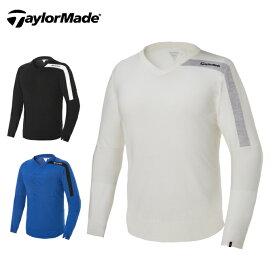テーラーメイド TaylorMade ゴルフウェア セーター メンズ ベーシックVネックセーター KY480