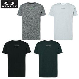 オークリー 半袖Tシャツ メンズ 3RD-G ヘザー機能Tシャツ 458092 OAKLEY