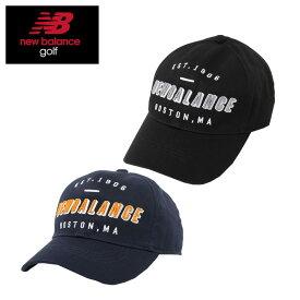 ニューバランス ゴルフ キャップ メンズ パネルロゴ 012-9287011 new balance
