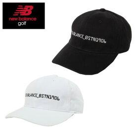 ニューバランス ゴルフ キャップ メンズ コットンツイル 012-9287001 new balance