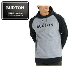 バートン BURTON スキー スノーボード 撥水パーカー メンズ Crown Bonded Pullover Hoodie クロウン ボンデッド プルオーバー フーディー 108911 021
