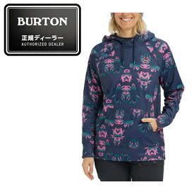 バートン BURTON スキー スノーボード 撥水パーカー レディース Crown Bonded Pullover Hoodie クロウン ボンデッド プルオーバー フーディー 174781 400