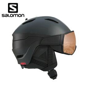サロモン スキー スノーボードヘルメット メンズ DRIVER S BLACK RED L40593300 salomon