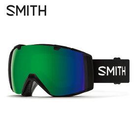 スミス スキー スノーボードゴーグル GOGGLE スペアレンズ付 ブラック メンズ レディース I/O Black SMITH