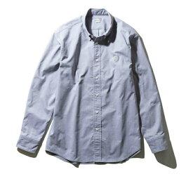 ノースフェイス 長袖シャツ メンズ L/S Him Ridge Shirt ロングスリーブヒムリッジシャツ NR11955 ZG THE NORTH FACE