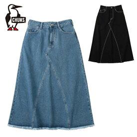 【6/5はエントリー+楽天カード利用で5倍】チャムス CHUMS スカート レディース ジーンスカート CH18-1121