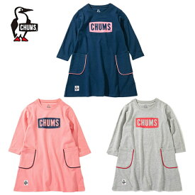 チャムス CHUMS ワンピース ジュニア ロゴポケットドレス キッズ CH21-1116
