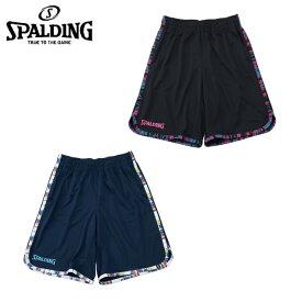 スポルディング バスケットボール パンツ メンズ レディース プラクティスパンツ マーブルライン SMP191200 SPALDING