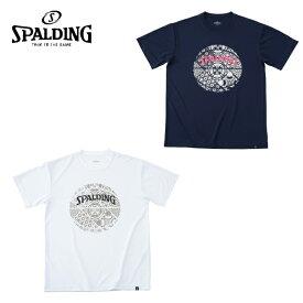 スポルディング SPALDING バスケットボールウェア 半袖シャツ メンズ レディース Tシャツ スカンジナビアン ボール SMT191230