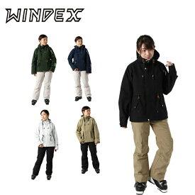 スキーウェア 上下セット レディース 耐水圧10,000mm パスケースポケット付き WS-2310 ウィンデックス WINDEX スキースーツ スノーウェア?雪遊び