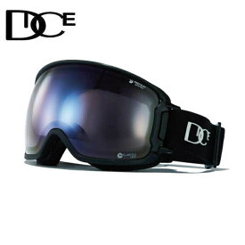 ダイス DICE スキー スノーボードゴーグル メンズ レディース BANK ULTRA調光レンズ BK94265BK