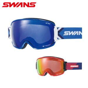 スワンズ スキー スノーボードゴーグル メンズ レディース MITミラー偏光レンズRIDGELINE メガネ対応 RL-MPDH-SC-MIT-PAF SWANS