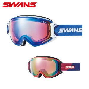 スワンズ スキー スノーボードゴーグル メンズ レディース 偏光ミラーレンズ ROVO-MPDH-SC-PAF SWANS
