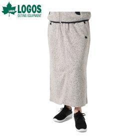 ロゴス LOGOS スカート レディース ラップウォームロング SK 9486-4451 19 モクGray