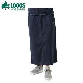 ロゴス LOGOS スカート レディース ラップウォームロング SK 9486-4451 67 モクNavy