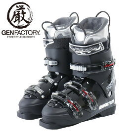 ゲン GENFACTORY スキーブーツ メンズ バックルブーツ CARVE 7