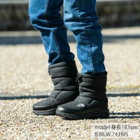 ノースフェイス スノーブーツ メンズ レディース Nuptse Bootie Wool V ヌプシ ブーティーウール V ユニセックス NF51978 C THE NORTH FACE