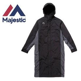 マジェスティック Majestic 野球 ベンチコート メンズ レディース XM23-MJ-9F05-BK
