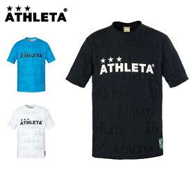 アスレタ サッカーウェア 半袖シャツ ジュニア ジャガードメッシュTシャツ 03340J ATHLETA