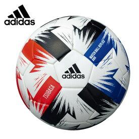 アディダス サッカーボール 4号 検定球 ツバサ キッズ AF410 adidas
