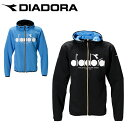ディアドラ テニスウェア パーカー メンズ ロゴフーディージャケット DTP0131 DIADORA