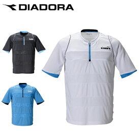 ディアドラ DIADORA テニスウェア ゲームシャツ メンズ ZIPトップ DTP0532