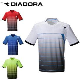 ディアドラ DIADORA テニスウェア ゲームシャツ メンズ DTG0336