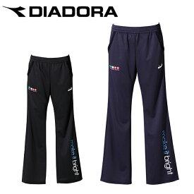 ディアドラ DIADORA テニスウェア バドミントンウェア スウェットパンツ レディース ロゴパンツ DTP0242