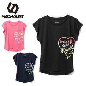Tシャツ 半袖 ジュニア プリント機能 VQ451502J14 ビジョンクエスト VISION QUEST