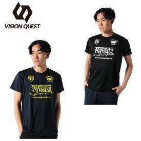 ハンドボールウェア 半袖シャツ メンズ グラフィックT VQ570105J01 ビジョンクエスト VISION QUEST