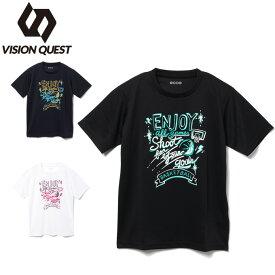 バスケットボールウェア 半袖シャツ ジュニア バスケプリントTシャツ VQ570413J06 ビジョンクエスト VISION QUEST