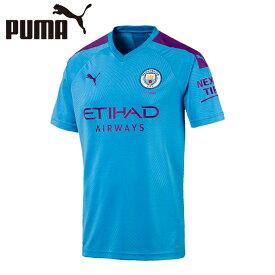 プーマ サッカーウェア レプリカシャツ メンズ マンチェスター シティ MCFC SS ホーム 半袖 ユニフォーム 755586 01 PUMA