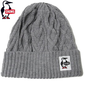 チャムス CHUMS ニット帽 メンズ レディース ブービー CH05-1199 H/Gray