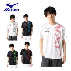 ミズノ テニスウェア Tシャツ 半袖 メンズ 62JA0Z19 MIZUNO