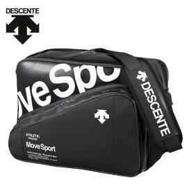 デサント DESCENTE エナメルバッグ メンズ レディース ラバスポショルダーバックL 35L DMAPJA41-BKWH