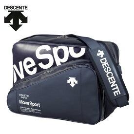 デサント DESCENTE エナメルバッグ メンズ レディース ラバスポショルダーバックL 35L DMAPJA41-NVWH