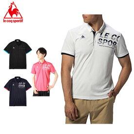 ルコック ポロシャツ 半袖 メンズ グラフィックロゴ BD機能ポロシャツ QMMPJA42 le coq sportif