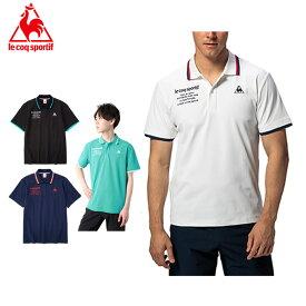 ルコック ポロシャツ 半袖 メンズ SOLOTEX 鹿の子ポロシャツ QMMPJA45 le coq sportif