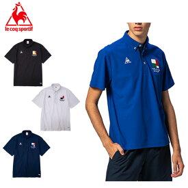 ルコック ポロシャツ 半袖 メンズ クーリスト鹿の子機能ポロシャツ QMMPJA47 le coq sportif