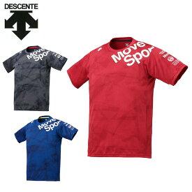 デサント スポーツウェア 半袖 メンズ ジャガードグラフィックTシャツ DMMPJA63 DESCENTE