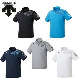 デサント ポロシャツ 半袖 メンズ サンスクリーン DMMPJA74 DESCENTE