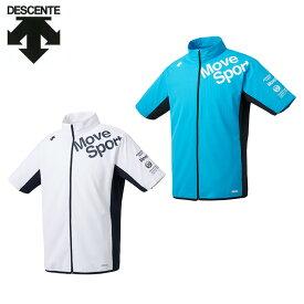 デサント スポーツウェア クロスウェア ジャケット メンズ クーリストクロス半袖 DMMPJF17 DESCENTE