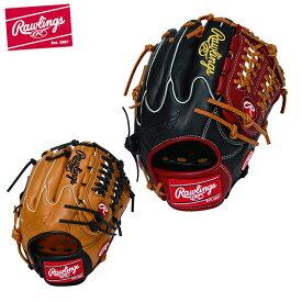 ローリングス 野球 一般軟式グラブ オールラウンド 軟式用 メンズ HYPER TECH R2G COLORS ハイパーテックカラーズ GRXHTCN62W Rawlings