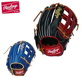 ローリングス 野球 一般軟式グラブ オールラウンド メンズ 軟式用 HYPER TECH R2G COLORS ハイパーテックカラーズ GRXHTCN65 Rawlings