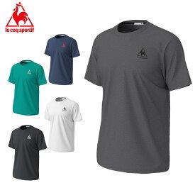 【エントリーで5倍 8/10〜8/11まで】 ルコック Tシャツ 半袖 メンズ 半袖シャツ QMMPJA30ZZ le coq sportif